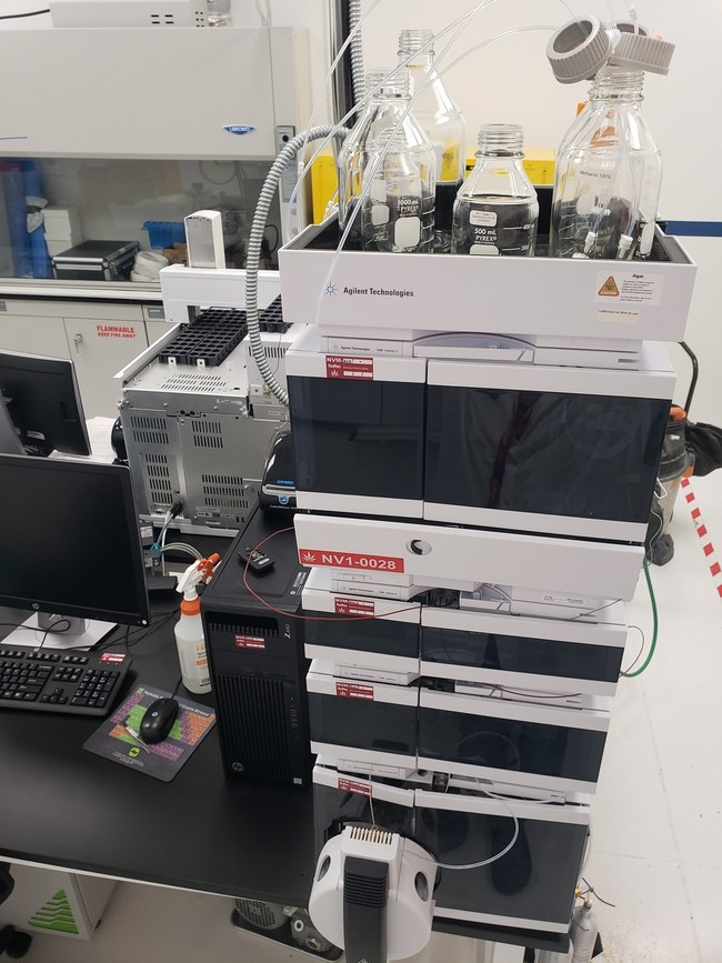 Other assets up for bid include this 2017 Agilent Ultivo Trip Quadrupole LC/MS System.