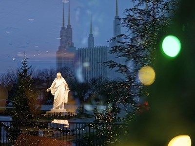 While the Visitors' Center remains closed, organizers hope the drive-thru Festival of Lights will offer visitors a chance to feel the peace and joy of the Christmas season (from the comfort and safety of their personal vehicles) as part of The Church's global efforts to #LightTheWorld