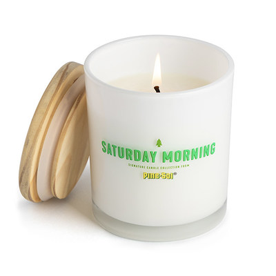 Saturday Morning Pine-Scented Candle