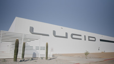 Lucid Motors broke ground on the first greenfield, dedicated electric vehicle factory built in North America less than a year ago, with the innovative AMP-1 factory now standing ready to start production of the next-generation EV, Lucid Air, in just a few months.
