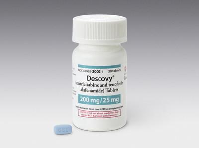 Gilead Canada a reçu un avis de conformité pour DESCOVY® (emtricitabine, ténofovir alafénamide) pour la prophylaxie préexposition au VIH (Groupe CNW/Gilead Sciences, Inc.)