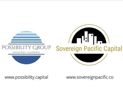 Logotipos de Possibility Group Ltd. y de Sovereign Pacific Capital (CNW Group/Possibility Group Ltd.)