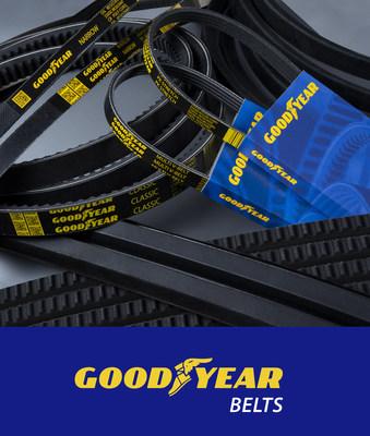 Presentamos Goodyear Belts: correas de transmisión de potencia para los mercados automotriz e industrial (PRNewsfoto/GAIN Aftermarket LLC)
