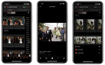 "Sony Announces ""Visual Story,"" a New iOS App with Cloud Storage for Professional Wedding and Event Photographers"