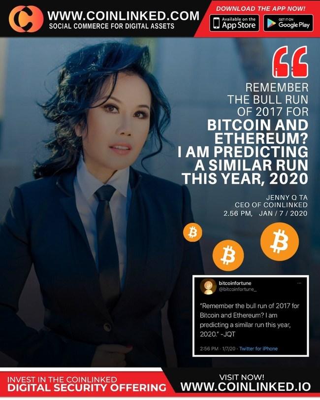 Jenny Ta, CEO of CoinLinked