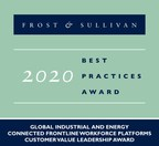 Webalo® Earns Frost & Sullivan's 2020 Customer Value Leadership Award for its All-inclusive Software Platform for the Frontline Workforce in the Industrial and Energy Sectors