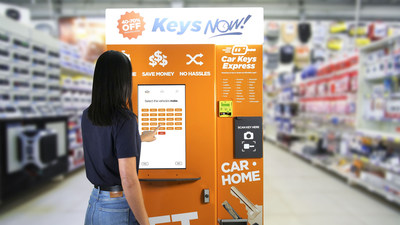 Car Keys Express Introduces the World's First Car key Vending Machine