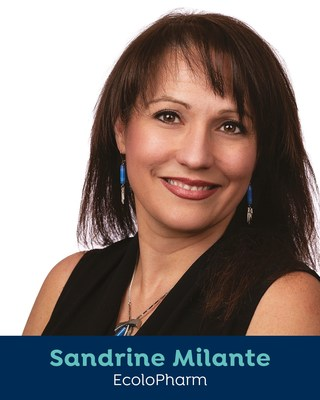 Sandrine Milante, EcoloPharm (Groupe CNW/Femmessor)