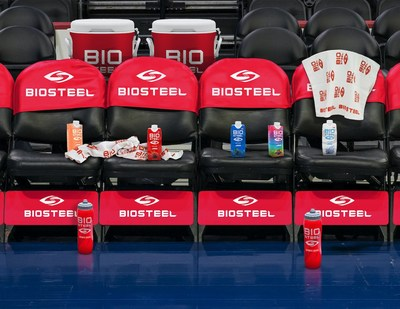 BioSteel Becomes Official Sports Drink of The Philadelphia 76ers (CNW Group/BioSteel Sports Nutrition Inc.)