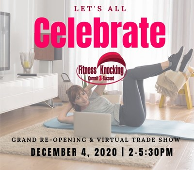 Virtual Grand Re-Opening Fitness Knocking The Best In-home Personal Training