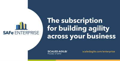 SAFe® Enterprise is a premium subscription service designed to help global organizations achieve sustainable business agility.