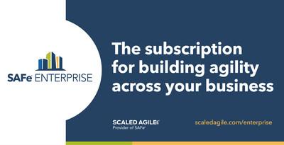 O SAFe® Enterprise é um serviço de assinatura premium projetado para ajudar organizações globais a alcançar agilidade de negócios sustentável.