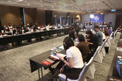 TAICCA y Golden Horse FPP Series presentan propuestas prometedoras a inversionistas internacionales (PRNewsfoto/Taiwan Creative Content Agency)