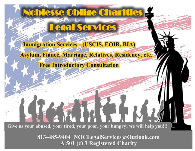 Noblesse Oblige Charities - Legal Services