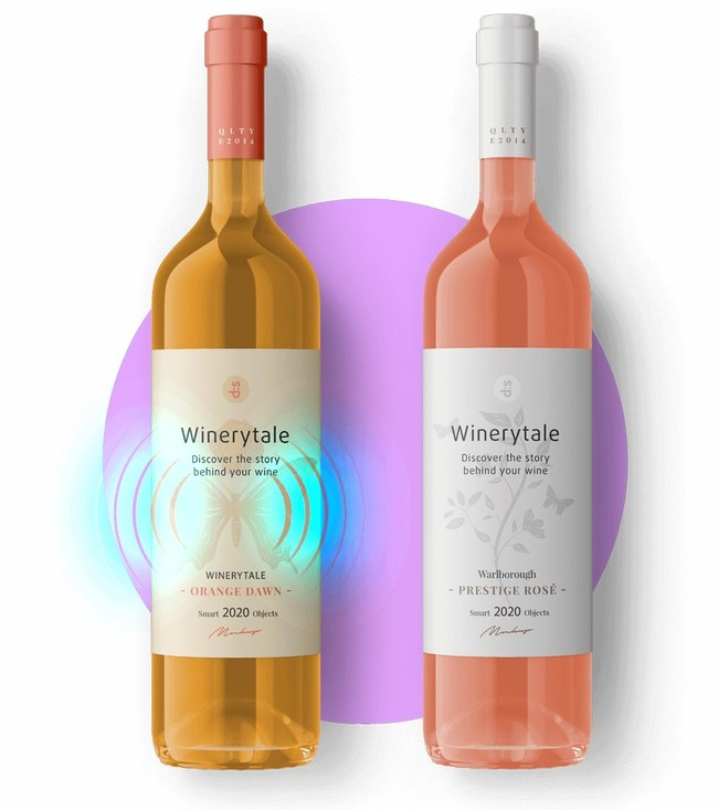Storytelling Wine - Winerytale's Augmented Reality Concept (PRNewsfoto/Winerytale)