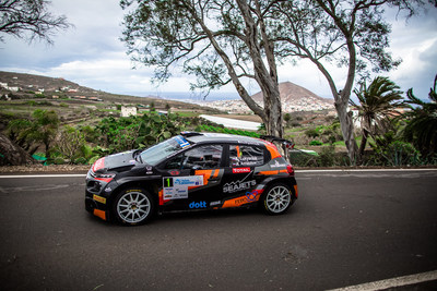 European champion Alexey Lukyanuk sponsored by SEAJETS (PRNewsfoto/European Rally Championship (ERC))