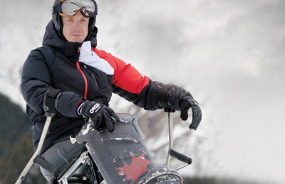 Josh Dueck has been named chef de mission for Canada at the Beijing 2022 Paralympic Winter Games. PHOTO: Canadian Paralympic Committee (CNW Group/Canadian Paralympic Committee (Sponsorships))
