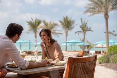 Enjoy access to Jumeirah's beach hotels and an array of signature outdoor dining experiences.