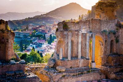 Taormina, Italy, home of the new San Domenico Palace, Taormina, A Four Seasons Hotel