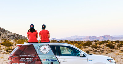 Mitsubishi Motors North America, Inc. and Team Record the Journey plug into adventure at the 2020 Rebelle Rally.