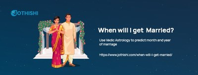 Marriage Date Prediction, One of the Biggest Research and Scientific Validations in Vedic Astrology by Jothishi.com