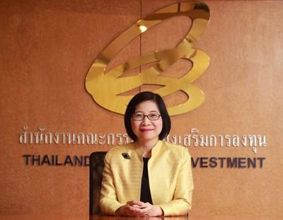 Ms. Duangjai Asawachintachit, Secretary General of the Thailand Board of Investment's (BOI)