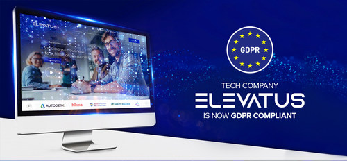 Tech company Elevatus announces its full compliance with GDPR. This compliance serves to secure and support the individual rights and personal data for all of Elevatus' worldwide clients.