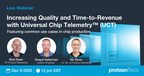 proteanTecs to Host Live Webinar on SoC Quality and Time-to-Revenue