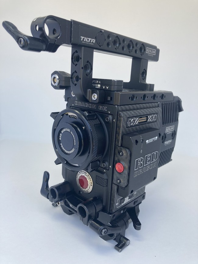 Tiger's Dec. 15th auction of surplus gear from Keslow features a variety of Red digital cameras with Dragon sensors.