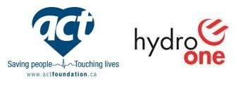 The ACT Foundation and Hydro One Inc. Logo (CNW Group/Hydro One Inc.)