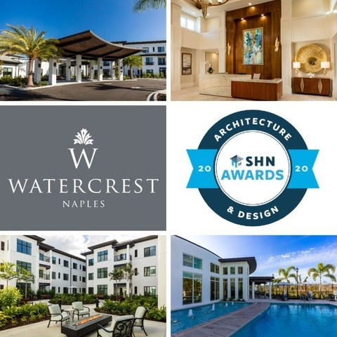 Watercrest Naples Assisted Living and Memory Care has been selected as a finalist in the Senior Housing News 2020 Architecture & Design Awards.