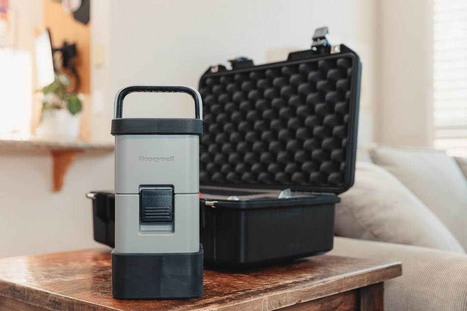 The Honeywell Air Detective allows HVAC service providers and environmental testing professionals to evaluate indoor air quality for spores and allergens.