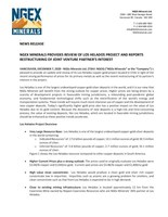 (CNW Group/NGEx Minerals Ltd.)