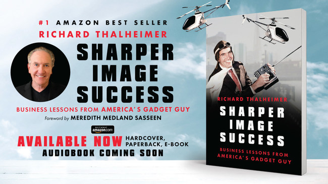 America's Original Tech Entrepreneur, Investing Expert, and Stock Guru, Richard Thalheimer shares how he made tech-gadgetry stylish, irresistible, and profitable at The Sharper Image in his new book, Sharper Image Success - Business Lessons from America's Gadget Guy. Available on Amazon. https://geni.us/SharperImageSuccess