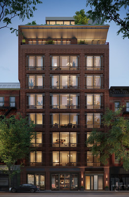 Named, Charlotte of the Upper West Side, as a nod to the developer's daughter Charlotte and Generation Alpha, the nine-story ground-up was designed and engineered to exceed the energy and ventilation standards of the German-based Passive House Institute. (Rendering credit: Depict)
