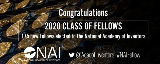 National Academy of Inventors Announces 2020 Fellows