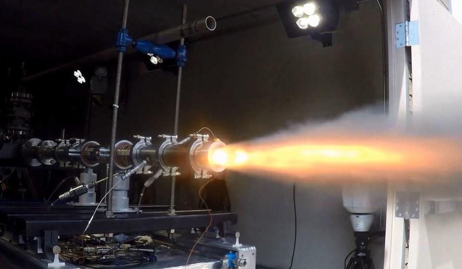 Solid Fuel Ramjet engine ground test