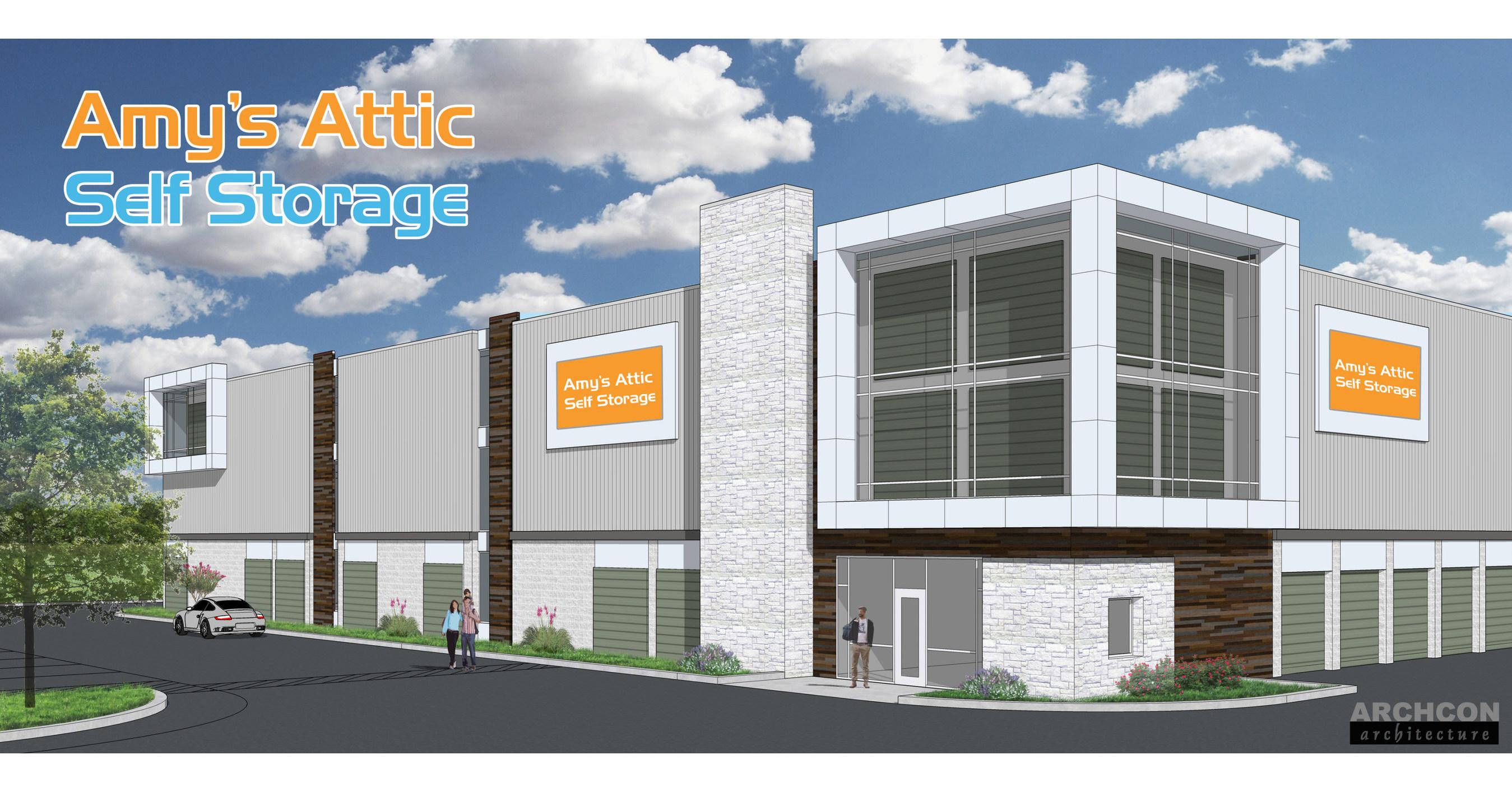 Amy's Attic Self Storage to Open New Location in Waco, TX