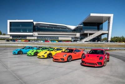 Porsche celebrates fifth anniversary of its U.S. home at the Porsche Experience Center Atlanta.