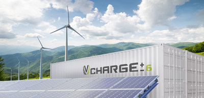 VCHARGE± - Leading and vertically integrated VRFB systems to meet the world's fast-growing energy storage needs. (CNW Group/Largo Resources Ltd.)