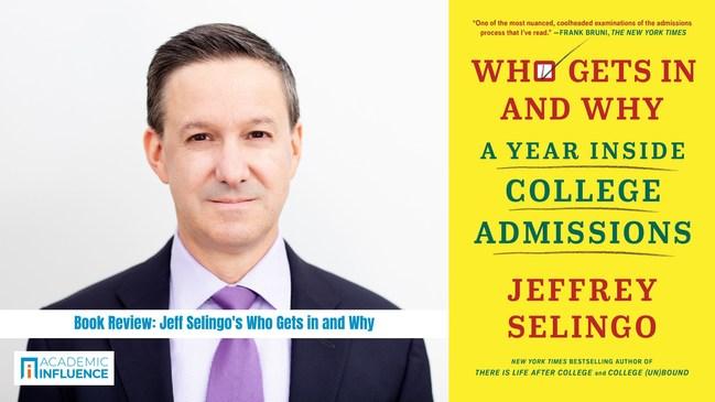 Author Jeffrey Selingo talks college admissions with AcademicInfluence.com