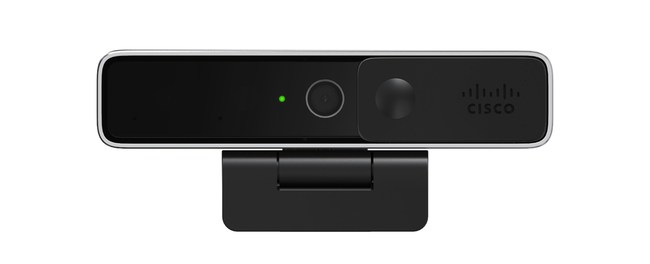 Webex Desk Camera includes an industry first that no other USB camera can do: you can now mute and unmute your microphone with a simple gesture—without ever touching your computer.