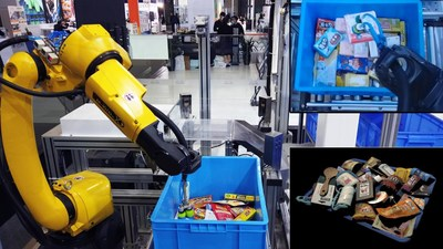 High-Efficiency Assorting of Common Goods Powered by Mech-Mind
