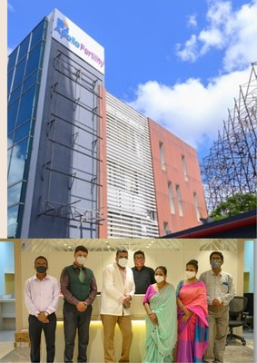 Apollo Fertility expands its footprint into Kolkata with a state-of-the-art standalone center. Dr Arindam Rath (in the middle), Senior expert in Fertility, has been practicing for 15 years