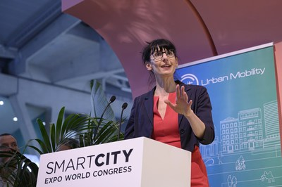 Maria Tsavachidis, CEO of EIT Urban Mobility