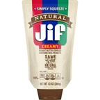 Jif® Brand Set to Expand Product Innovation and Convenience with Jif Natural Squeeze Creamy Peanut Butter Spread