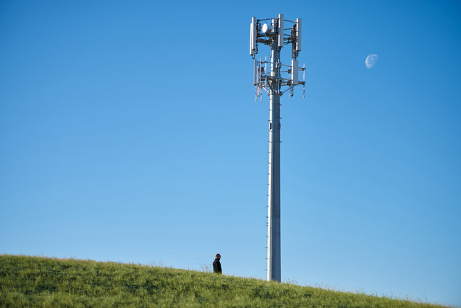 DISH performed a successful field validation of its 5G network from a tower in Cheyenne, WY