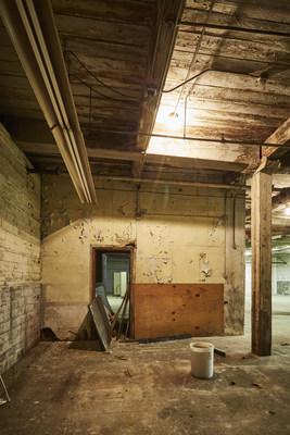 Pre redevelopment conditions