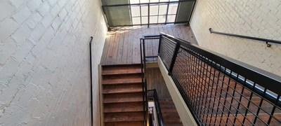 Restored stairwell