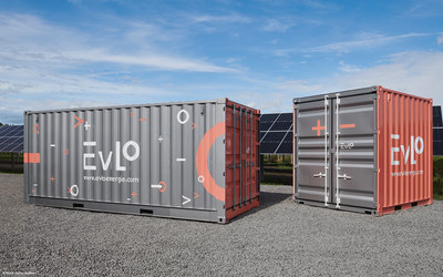 EVLO 500 and EVLO 1000 energy storage systems. (CNW Group/Hydro-Québec)